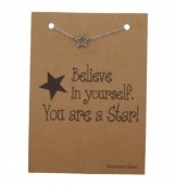 A-B24.5   Stainless Steel Silver B099-004A Star