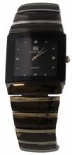 A-A11.6 Quartz Watch Metal 3x2.5cm Black-Silver