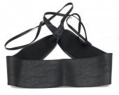 T-A3.1 BELT001-001A PU Waist Belt Black