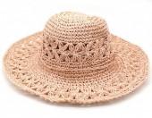 Z-B3.5 HAT211-001C Summer Hat Woven Pink