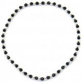 E-E4.3  SB104-302 925S Bracelet Elastic with 2mm Beads