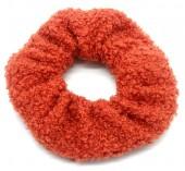 S-H3.3 H305-027B Scrunchie Teddy Orange