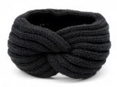 Y-A2.3 H401-001A Knitted Headband Black