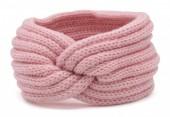R-D7.1 H401-001E Knitted Headband Pink
