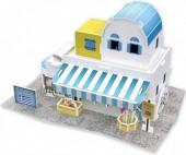 F-F23.2 W3167H 3D Puzzle Souvenir Shop Greece  - 43pcs