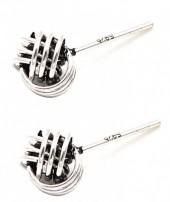 F-A3.3 SE104-044 Earrings 925 Sterling Silver Knot