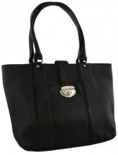 R-G5.2 BAGE Leather Bag 41x29x12cm Black