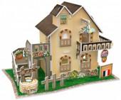 G-F8.2 W3118H 3D Puzzle Garden Cottage France - 36pcs