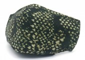 T-D7.2 FM057-035 Face Mask - Individually Packed with room for Filter - Snake Khaki