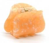 X-G7.2 H413-004A Acrylic Hair Clip Marble Orange