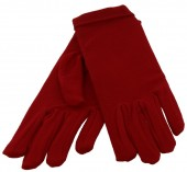 S-C1.2 Gloves Stretch Size S-M Red