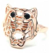 G-E6.3 R532-010R Adjustable Ring Tiger Rose Gold