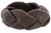 T-F7.2 H401-005C Knitted Headband Light Grey