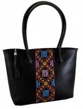 T-I7.2 BAG-899 Luxury Leather Bag 43x28x11cm Black