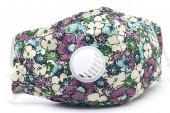 I-D20.1 GM046-010F Face Mask - Individually Packed with room for Filter Flowers