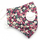 T-E4.1  GM046-010J Face Mask - Individually Packed with room for Filter Flowers