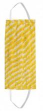S-B6.1 Cotton Fashion Mask- Washable - Individually Packed - Yellow