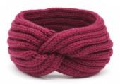 R-F3.2 H401-001H Knitted Headband Purple