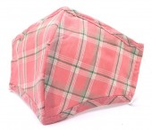 F-F14.2 FM057-002 Face Mask - Individually Packed with Room for Filter - Checkered