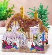 Q-K6.1 LT002 Diamond Painting Set Unicorn House 3D Set