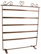 K-A4.1 Large Earring Display 37x30x9cm Copper