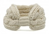 T-J6.1 H401-007A Knitted Headband Off White