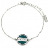D-A9.1 B010-019S S. Steel Bracelet with Coin