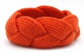 T-F2.2  H401-005B Knitted Headband Orange