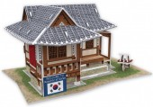 F-C25.1 W3157H 3D Puzzle Traditional Residence Korea - 35pcs