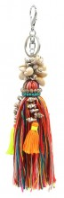 H-C15.2 KY536-003 Bag- Key Chain Tassels and Shells